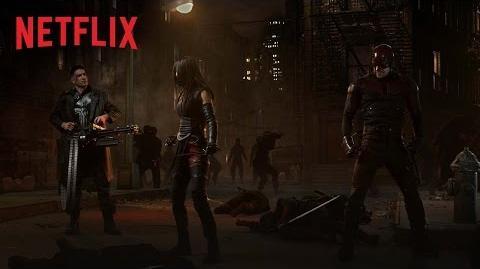 Marvel's Daredevil – Figuren-Artwork – Netflix HD