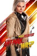 Ant-Man and the Wasp Charakterposter Janet van Dyne
