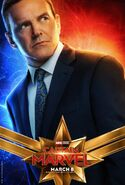 Captain Marvel Charakterposter Phil Coulson