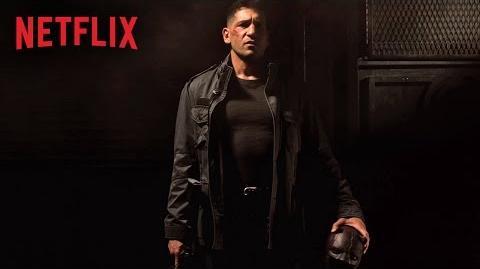 Marvel's Daredevil – Figuren-Artwork – Frank Castle – Netflix HD