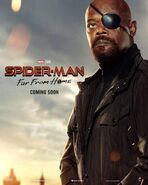 Spider-Man - Far From Home Charakterposter Nick Fury