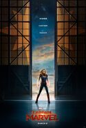 Captain Marvel Teaserposter
