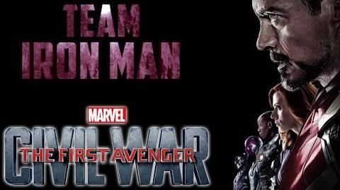 The First Avenger Civil War - Team Iron Man- Ab 28. April im Kino Marvel HD
