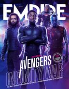 Avengers - Infinity War Empire Cover 4