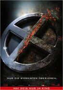 X-Men Apocalypse deutsches Teaserposter