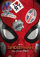 Spider-Man - Far From Home deutsches Teaserposter