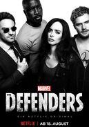 The Defenders Staffel 1 Deutsches Poster