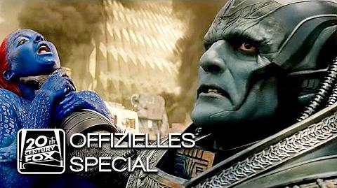 "X-Men Apocalypse ""Apocalypse"" En Sabah Nur Character-Clip Deutsch HD (Oscar Isaac)"