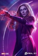 Avengers - Infinity War - Scarlet Witch Poster