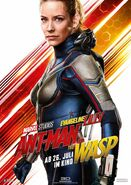 Ant-Man and the Wasp deutsches Charakterposter Wasp