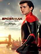 Spider-Man - Far From Home deutsches Charakterposter Spider-Man