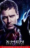 X-Men Apocalypse - Magneto deutsches Charakterposter