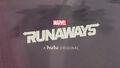 Marvel's Runaways Titlecard