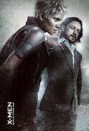 Storm und Charles Xavier -Professor X jung