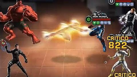 PVP JCJ 23 usando a Sunfire y Red Hulk (Primeras impresiones) Marvel Avengers Alliance
