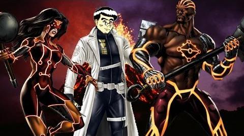PVP 24 Spider Woman & Luke Cage (Adamantium League) Marvel Avengers Alliance