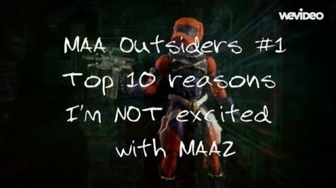 MAAOutsiders 1 Top 10 reasons I'm NOT excited with MAA2