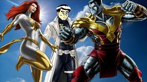 PVP 26 Colossus + Phoenix. Marvel Avengers Alliance Agent Agente ANNHE Friki.