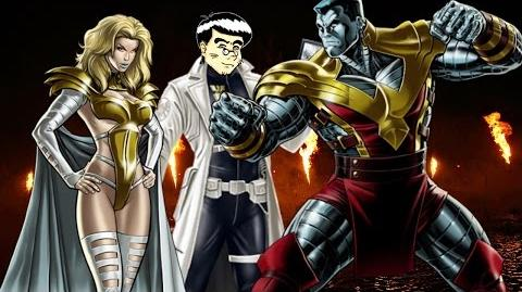 PVP 26 COLOSSUS + EMMA FROST (Adamantium League) Marvel Avengers Alliance Agent Agente ANNHE.
