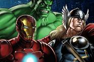 Avengers Splash Artwork