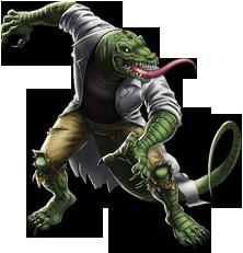 Lizard/Hero