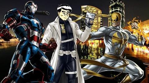 PVP 25 Iron Fist & War Machine. Marvel Avengers Alliance Agente ANNHE Friki.