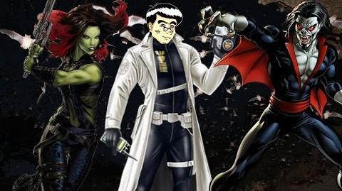 PVP 28 GAMORA + MORBIUS. Marvel Avengers Alliance Agent Agente @ANNHELUZ Friki.