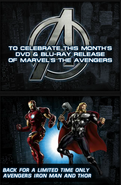 LTO Avengers Ironman and Thor