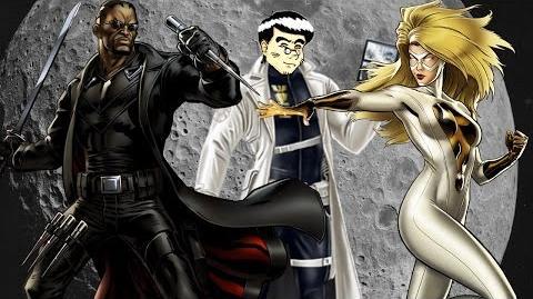 PVP 28 BLADE + MOONSTONE (Adamantium League) Marvel Avengers Alliance Agent Agente ANNHE Friki.