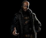 Nick Fury Portrait Art