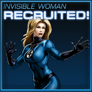 Invisible Woman Recruited