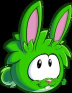 Puffle Lapin Vert 1
