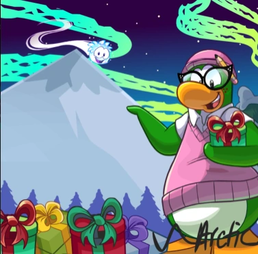 Décor de Noël de Tante Arctic.png