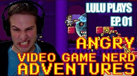 Lulu Plays Angry Video Game Nerd Adventures Ep.1 Sucked into the game world!