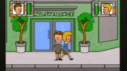 Mega Drive Longplay - Beavis and Butt-head