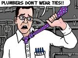 Transcript of 2009 AVGN Episode Plumbers Don't Wear Ties