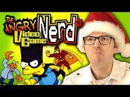 The Simpsons- Bartman Meets Radioactive Man (NES) - Angry Video Game Nerd (AVGN)