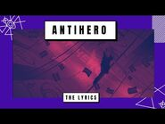 AViVA - ANTiHERO (THE LYRICS)