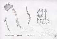 Predators Concept Art (Blades)