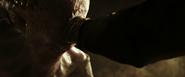 Neomorph biting Walter's hand off