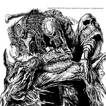 San Diego Comic Con Comics issue -3 (1 August 1994) p29 - Predator pinup, art by Derek Thompson.png