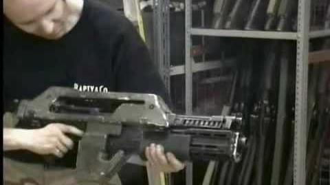 "M41A Pulse Rifle - ""Hero"" *WORKING* Prop Replica"