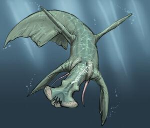 Aquatic predator sketch by alienamoeboid-d5corup.jpg