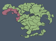 Mapa Ziemi po powstaniu Republiki