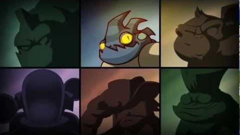 Awesomenaut Showcase Leon Chameleon