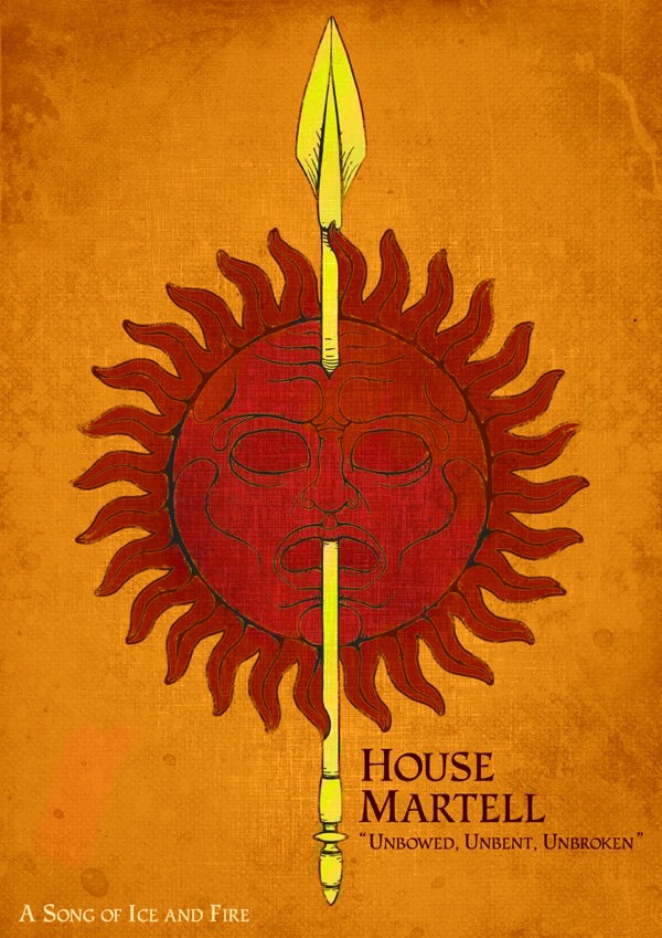 A Game of Thrones 2.0-1x #017 Dorne House Martell