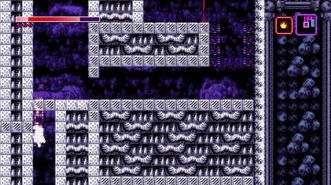Axiom Verge Mar-Uru I-Beam Laser Droid Room - Reverse Slicer