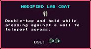 Modified Lab Coat Pickup