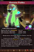 Character Profiles- YNDR-ARM-34 Shirazukin