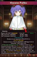 Character Profiles- Katarina